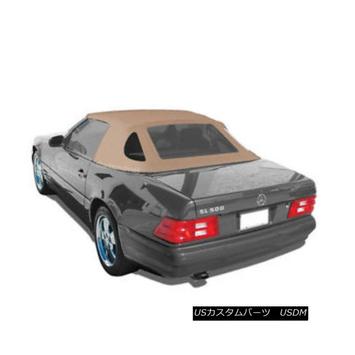 幌・ソフトトップ Mercedes R129 SL Convertible Soft Top 1990-2002 TAN GERMAN OEM Canvas Cloth メルセデスR129 SLコンバーチブルソフトトップ1990-2002 TAN GERMAN OEMキャンバスクロス