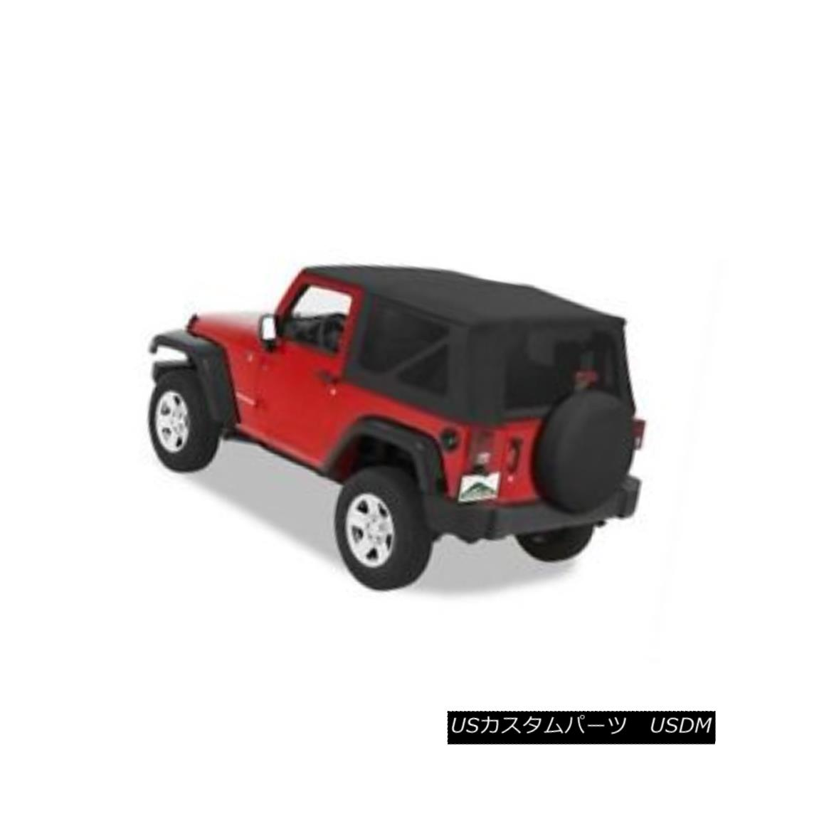 幌・ソフトトップ Pavement Ends 51202-35 Replay Soft Top Black Diamond 2007-2009 Jeep Wrangler 舗装終了51202-35リプレイソフトトップブラックダイヤモンド2007-2009ジープラングラー