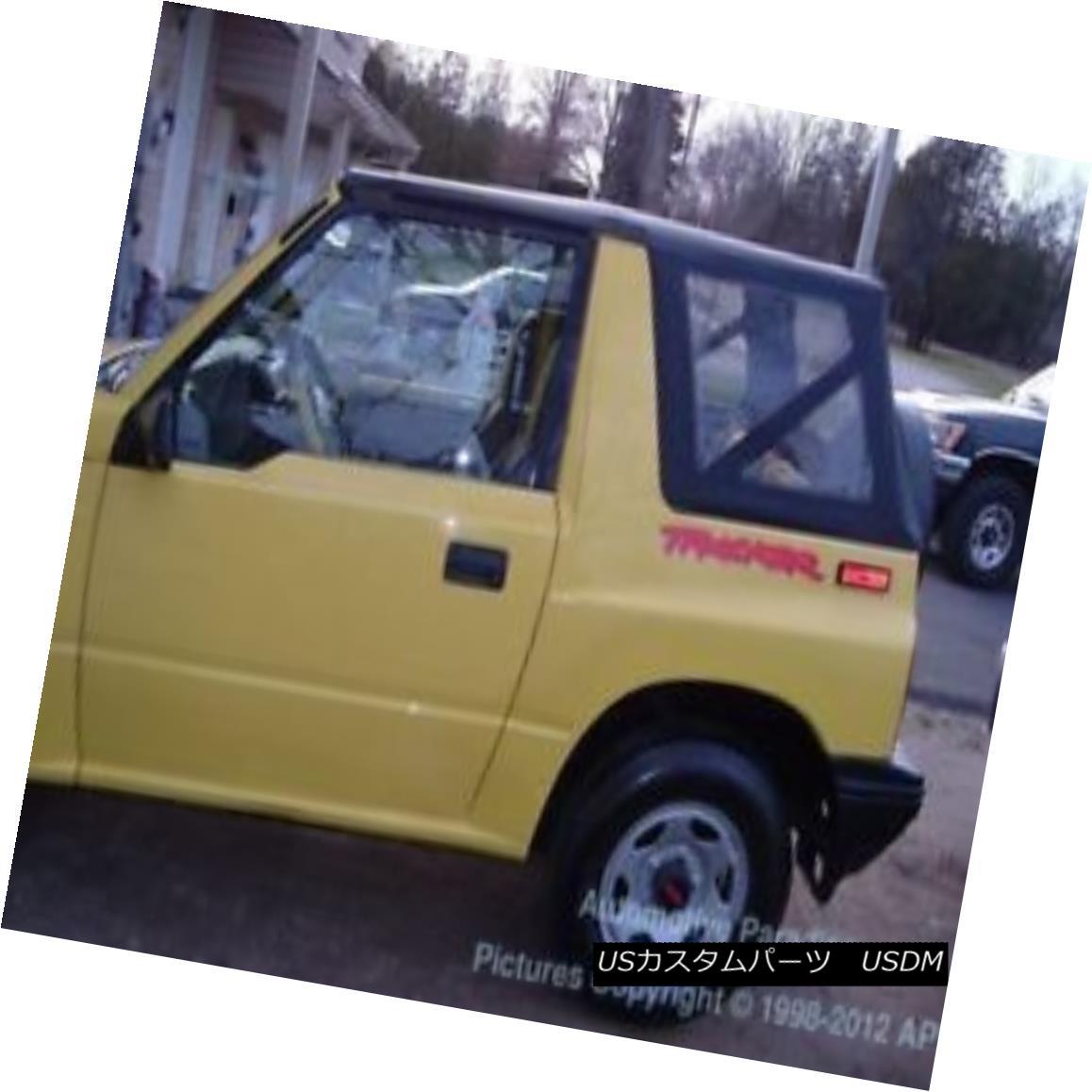 幌・ソフトトップ Tinted 95-98 Suzuki Sidekick Geo Tracker Soft Top Black ティンテッド95-98スズキサイドキックジオトラッカーソフトトップブラック