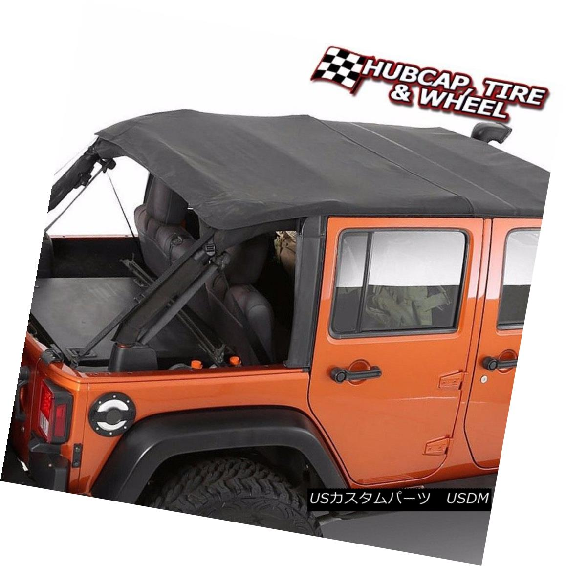 幌・ソフトトップ SMITTYBILT BOWLESS COMBO SOFT TOP REPLACEMENT W/ TINTED WINDOWS 9083235 JEEP SMITTYBILT BOWLESS COMBOソフトトップ交換W / TINTED WINDOWS 9083235 JEEP
