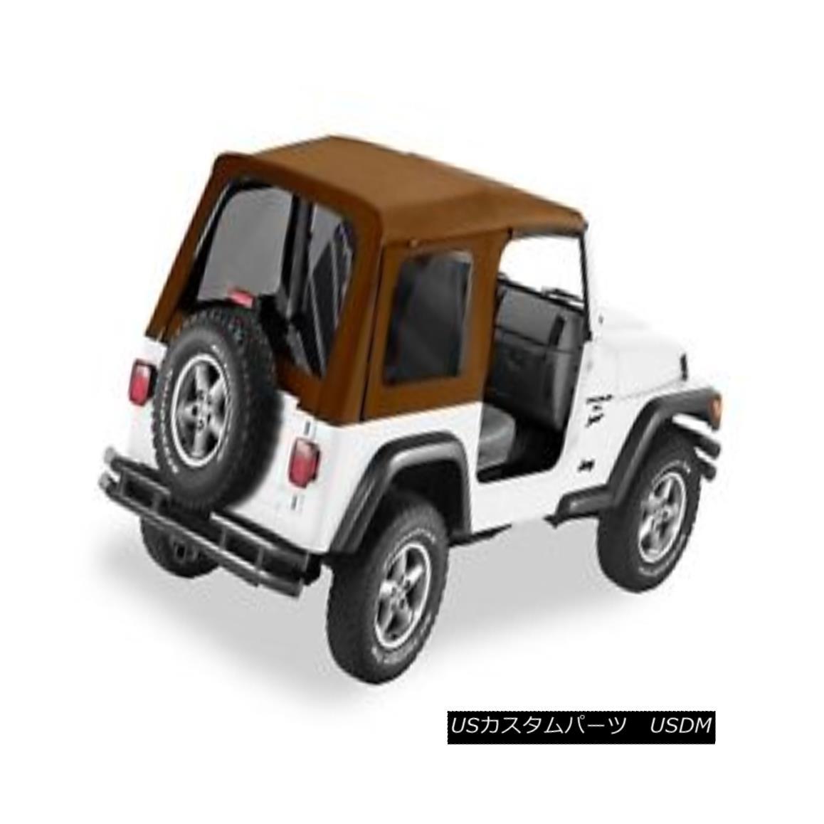 幌・ソフトトップ Bestop 54709-37 Jeep Supertop Classic Replacement Soft Top Spice Bestop 54709-37ジップスーパートップクラシック交換ソフトトップスパイス