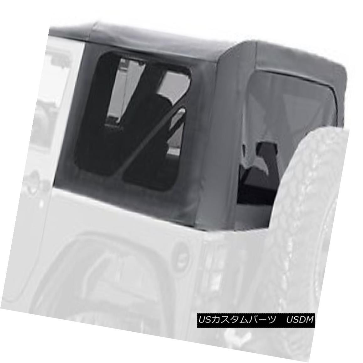 幌・ソフトトップ Jeep 10-16 Wrangler/Rubicon 4dr Replacement Soft Top w/ Tint Smittybilt 9085235 ジープ10-16ラングラー/ Rubic 4dr交換用ソフトトップ/ティントSmittybilt 9085235