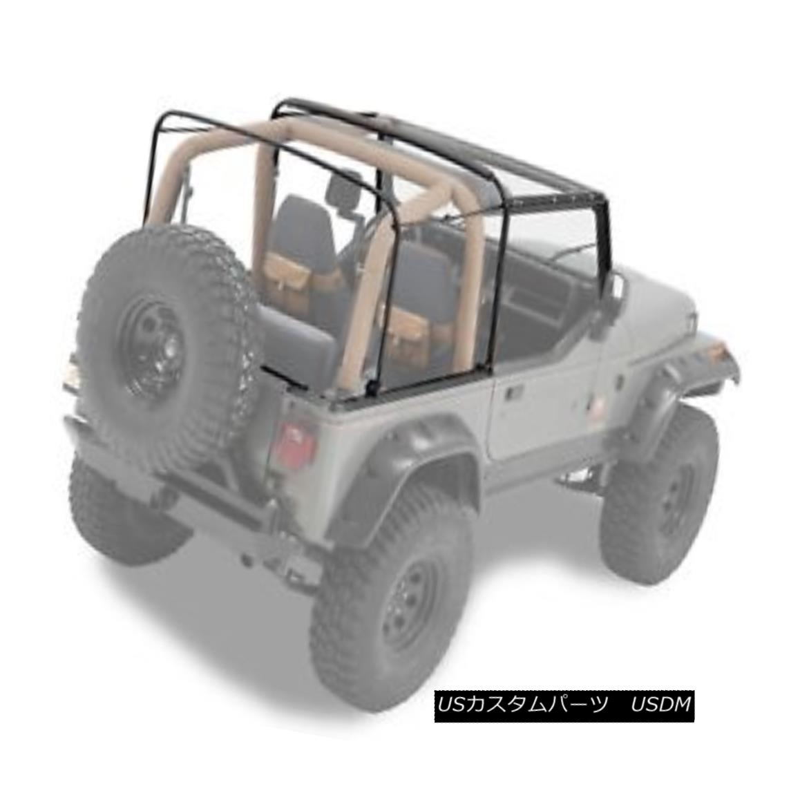 幌・ソフトトップ Bestop 55004-01 Jeep Soft Top Hardware Kit OE style Black Bestop 55004-01ジープソフトトップハードウェアキットOEスタイルブラック
