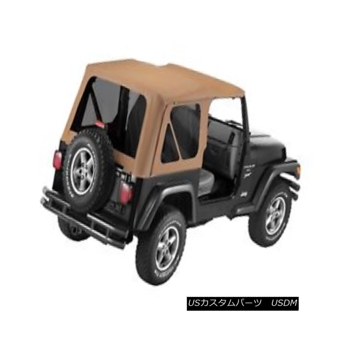 幌・ソフトトップ Bestop 51180-37 Jeep Replace-a-Top Soft Top Spice Bestop 51180-37ジープ交換トップソフトトップスパイス
