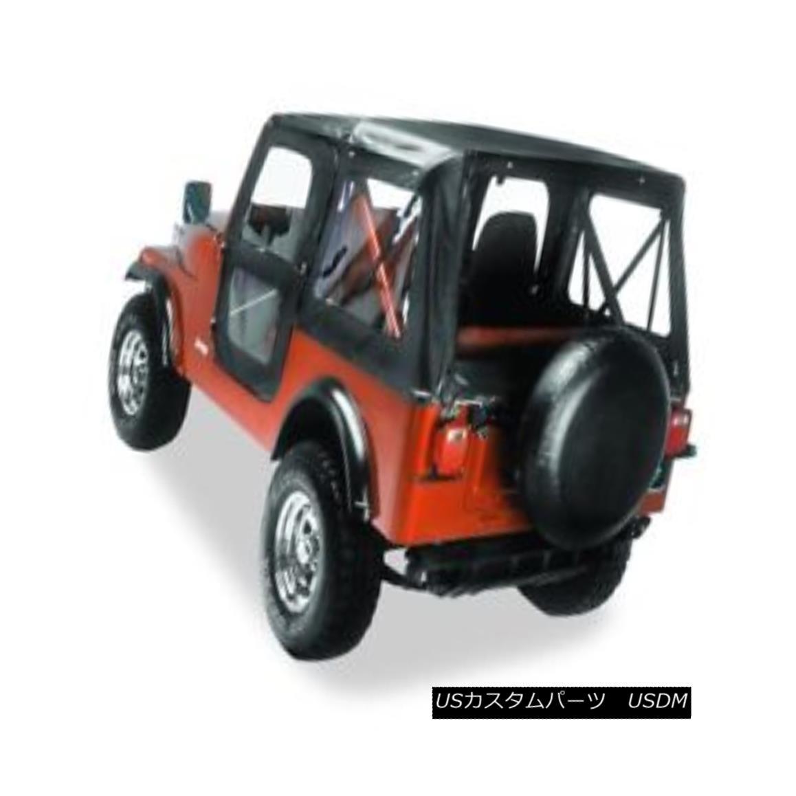 幌・ソフトトップ Bestop 51117-01 Jeep Replace-a-Top Soft Top Black Bestop 51117-01ジープ交換トップトップソフトトップブラック