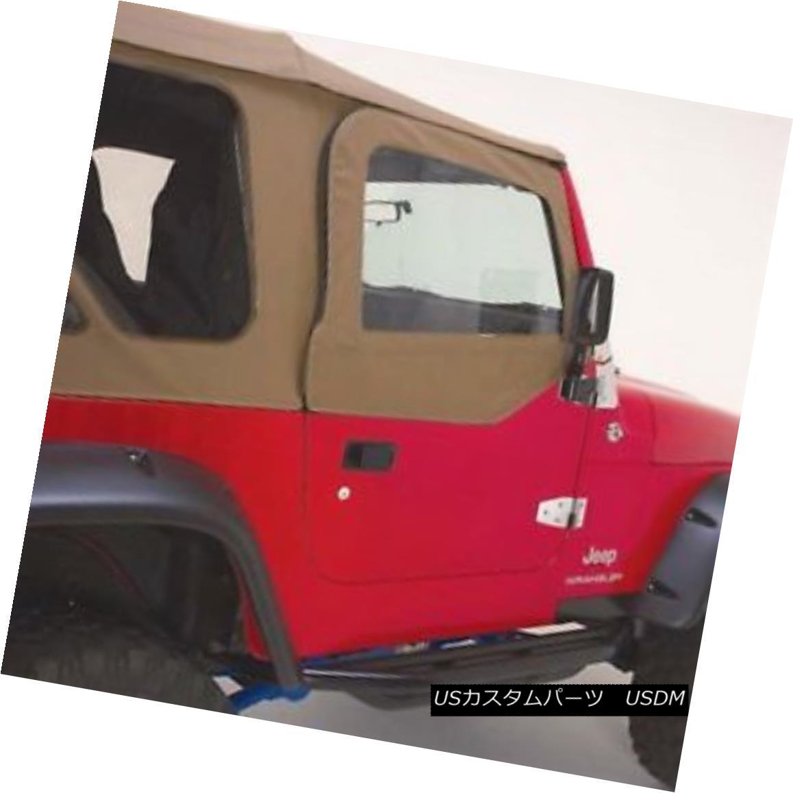 幌・ソフトトップ Rampage 68336 Replacement Soft Top with Frame and Hardware 97-06 Jeep Wrangler 暴れ68336フレームとハードウェアの交換用ソフトトップ97-06ジープラングラー