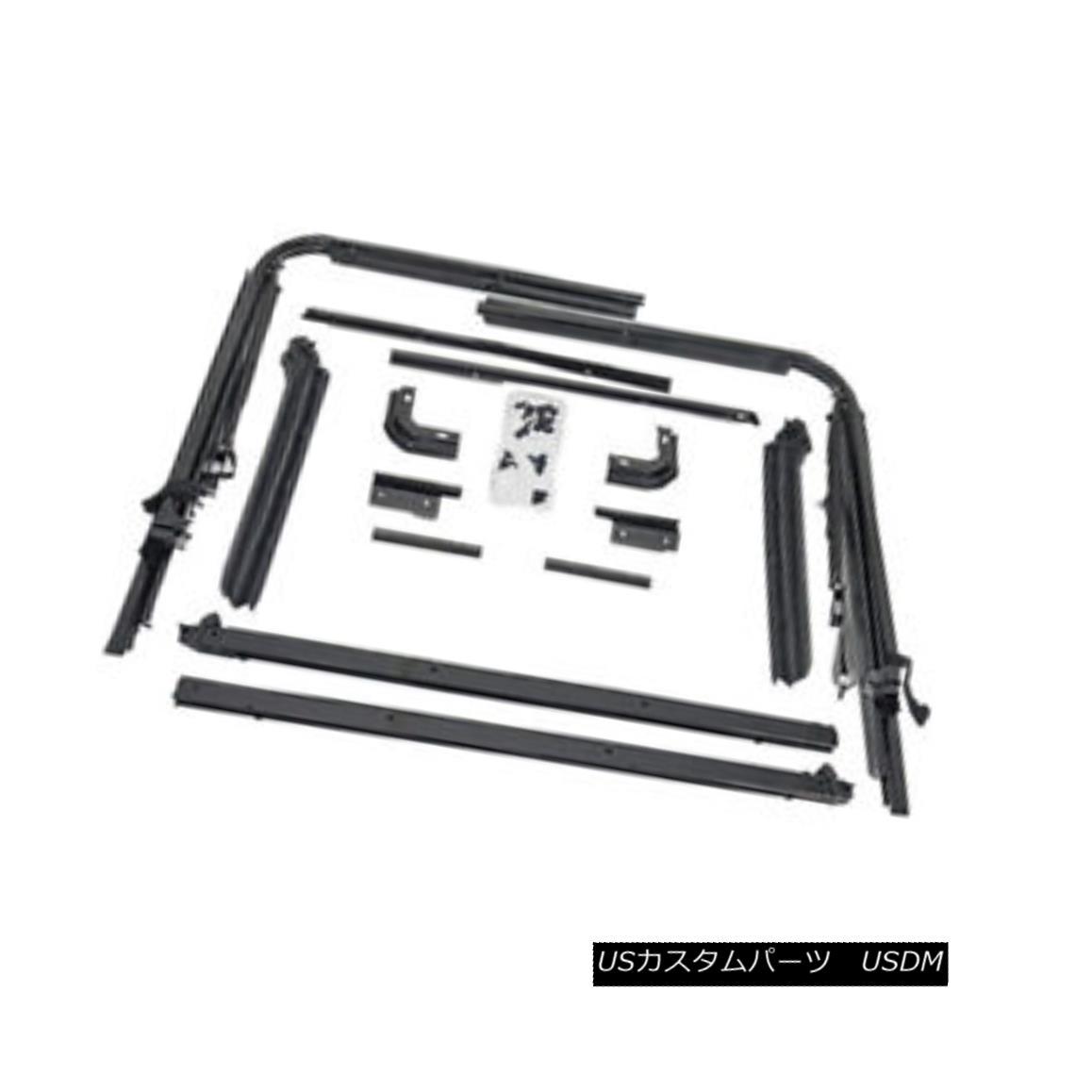 幌・ソフトトップ Rugged Ridge 13510.01 Factory Replacement Soft Top Hardware 87-95 Jeep Wrangler 頑丈なリッジ13510.01工場交換ソフトトップのハードウェア87-95ジープラングラー