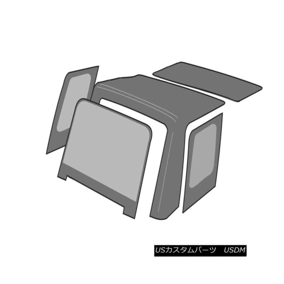 幌・ソフトトップ Rampage 99835 Factory Replacement Soft Top Fits 07-09 Wrangler (JK) Rampage 99835工場交換ソフトトップフィット07-09 Wrangler(JK)