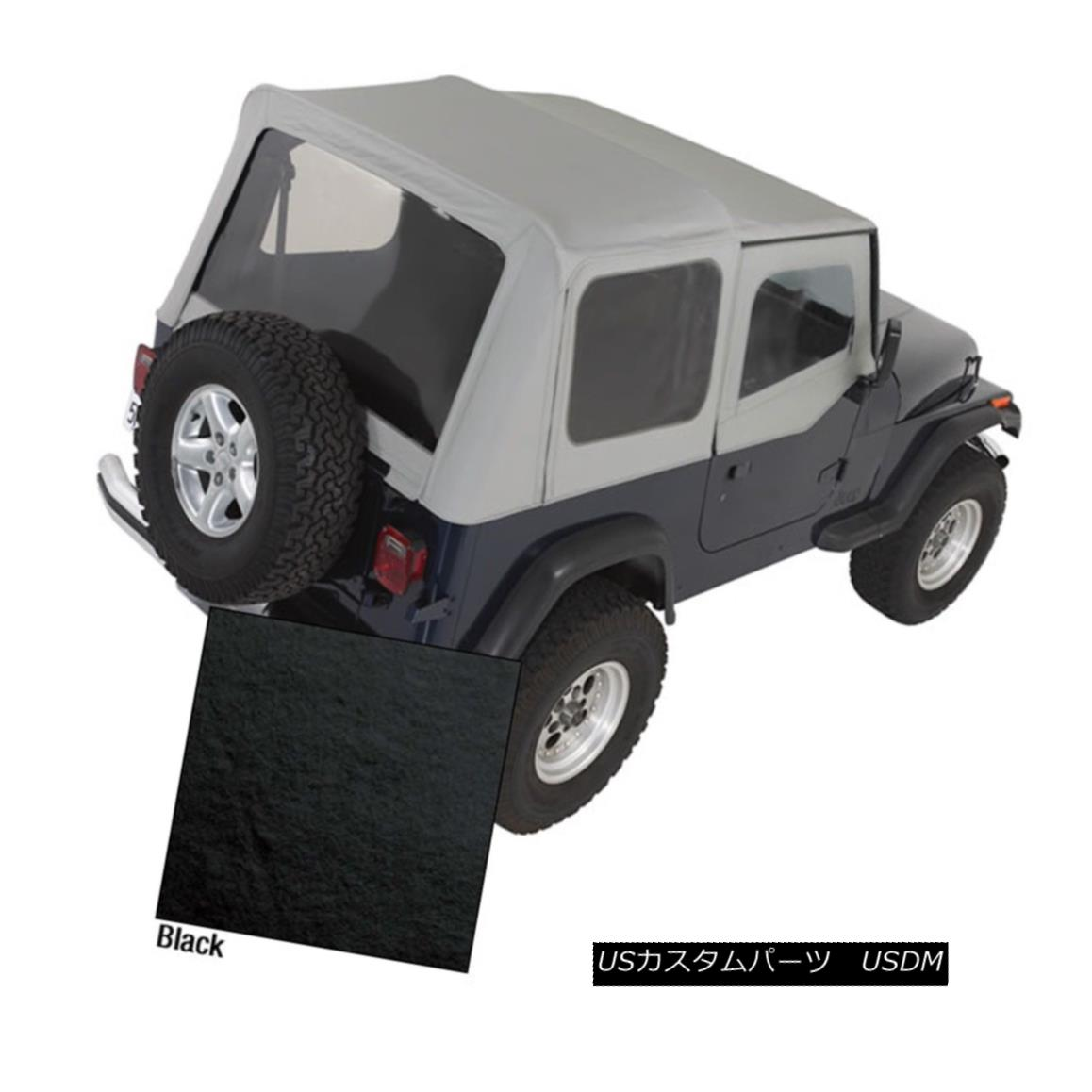 幌・ソフトトップ Rugged Ridge 13721.15 Replacement Soft Top Fits 88-95 Wrangler (YJ) Rugged Ridge 13721.15交換用ソフトトップ88-95 Wrangler(YJ)