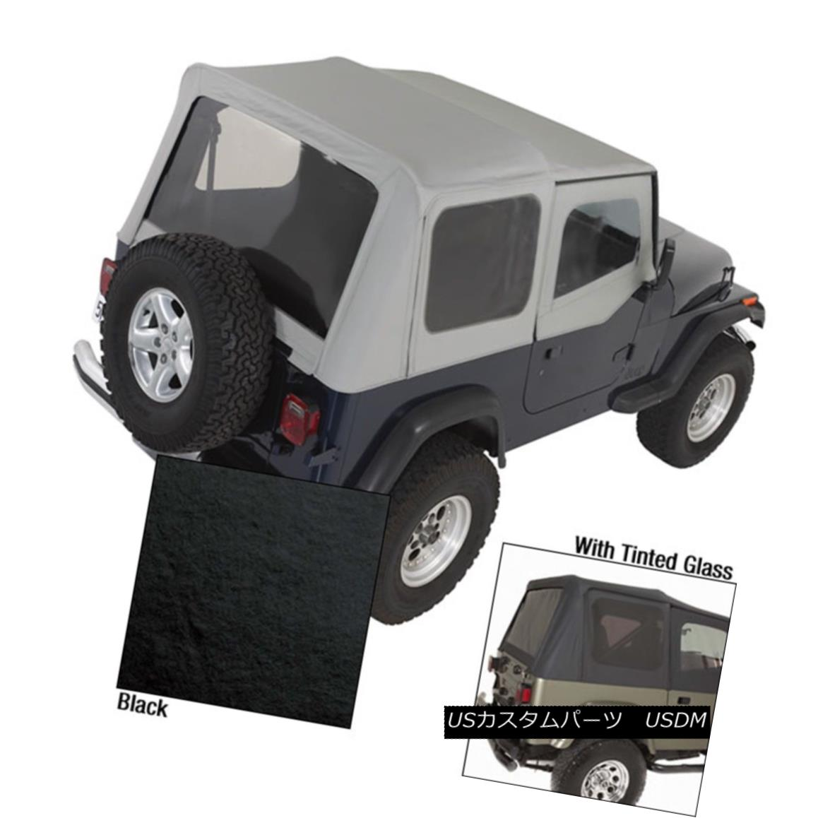 幌・ソフトトップ Rugged Ridge 13722.15 Replacement Soft Top Fits 88-95 Wrangler (YJ) Rugged Ridge 13722.15交換用ソフトトップ88-95 Wrangler(YJ)
