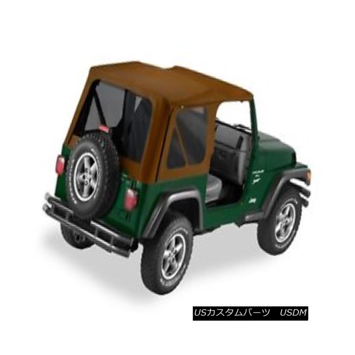 幌・ソフトトップ Bestop 54720-37 Jeep Supertop NX Complete Replacement Soft Top Spice Bestop 54720-37ジープスーパートップNX完全交換ソフトトップスパイス