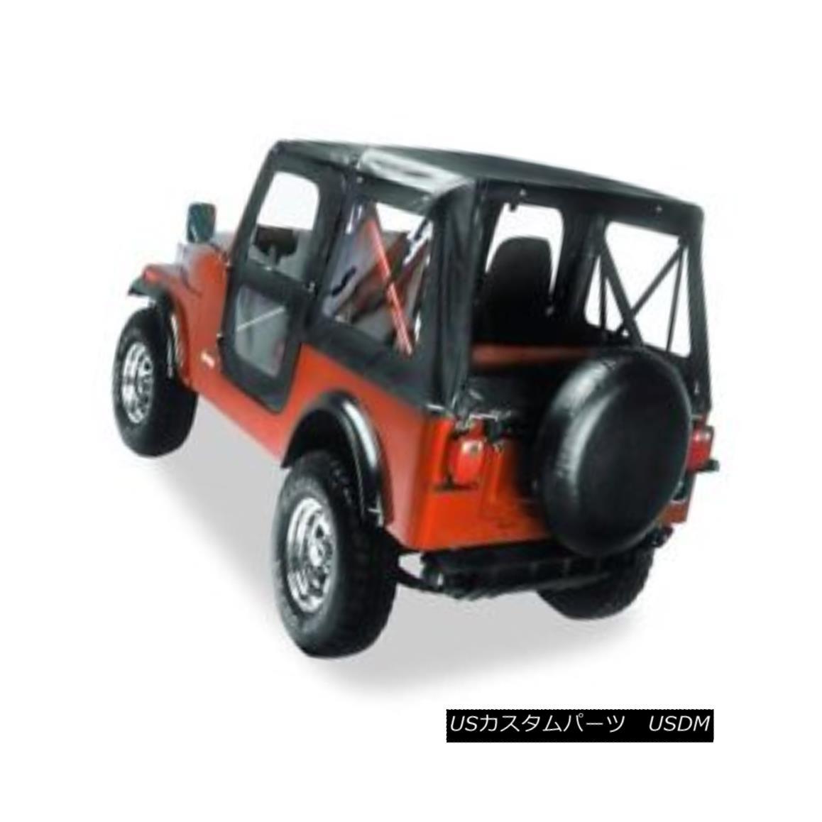 新色 車用品 バイク用品 >> パーツ 流行のアイテム 外装 エアロパーツ その他 幌 ソフトトップ Bestop Replace-a-Top Top Fabric-only CJ5 For CJ5#51117-01 ベストトップ交換用トップファブリック専用ソフトトップ1976-1983 Jeep 1976-1983 Soft #51117-01