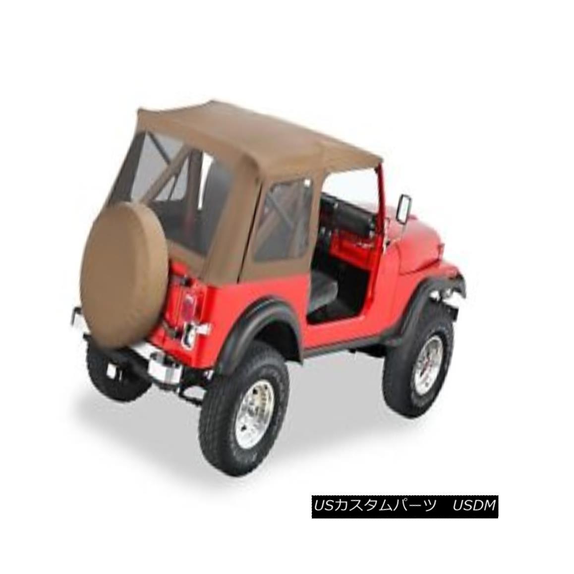 幌・ソフトトップ Bestop 51599-37 Jeep Supertop Classic Replacement Soft Top Spice Bestop 51599-37ジップスーパートップクラシック交換ソフトトップスパイス