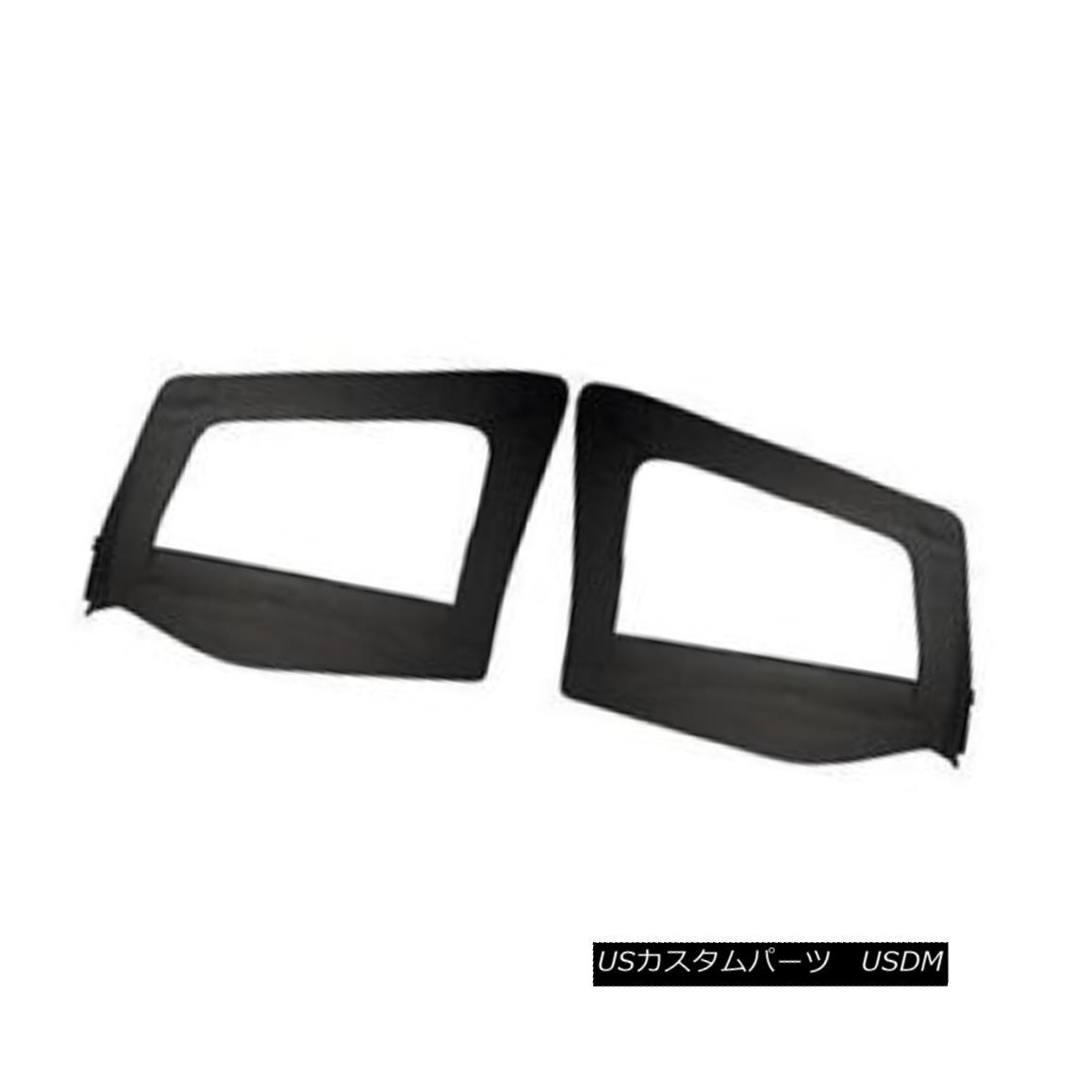 幌・ソフトトップ Rampage Door Skins 97-06 Jeep Wrangler TJ LJ 89715 Black Denim ランペイジドアスキン97-06ジープラングラーTJ LJ 89715ブラックデニム