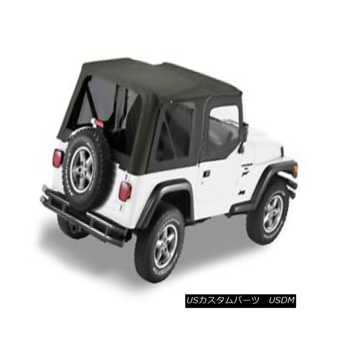 幌・ソフトトップ Bestop 79129-35 Jeep Sailcloth Replace-a-Top Soft Top Black Diamond Bestop 79129-35ジープセイルクロス交換トップソフトトップブラックダイヤモンド