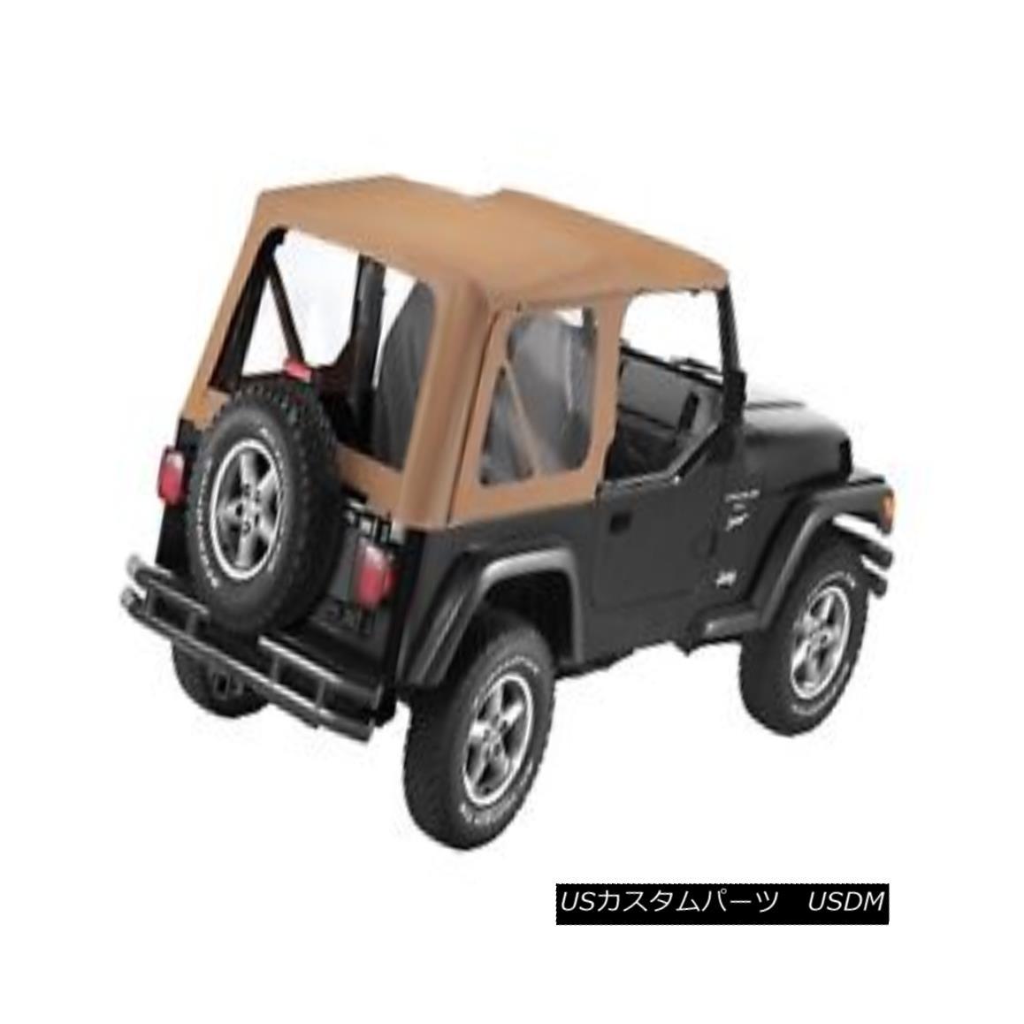 幌・ソフトトップ Bestop 79122-37 Jeep Sailcloth Replace-a-Top Soft Top Spice Bestop 79122-37ジープセイルクロス交換トップソフトトップスパイス