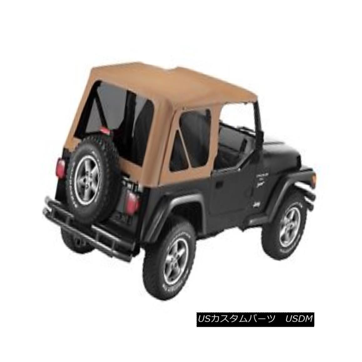 幌・ソフトトップ Bestop 79139-37 Jeep Sailcloth Replace-a-Top Soft Top Spice Bestop 79139-37ジープセイルクロス交換トップソフトトップスパイス
