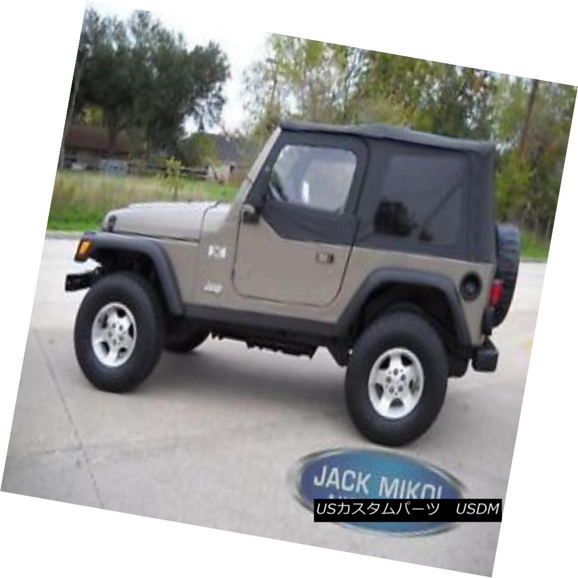 幌・ソフトトップ Rampage Products 97-06 Jeep Wrangler Replacement Soft Top Tinted Windows Rampage Products 97-06ジープラングラー交換ソフトトップティンテッドウィンドウズ