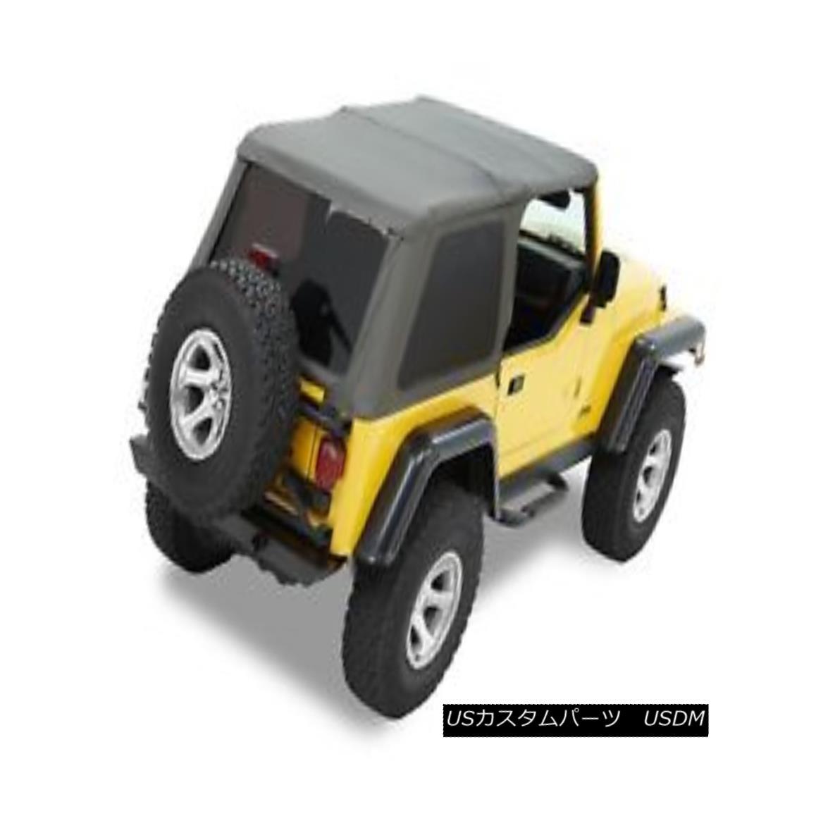 幌・ソフトトップ Bestop 56820-35 Jeep Trektop NX Complete Replacement Soft Top Black Diamond Bestop 56820-35 Jeep Trektop NX完全交換用ソフトトップブラックダイヤモンド