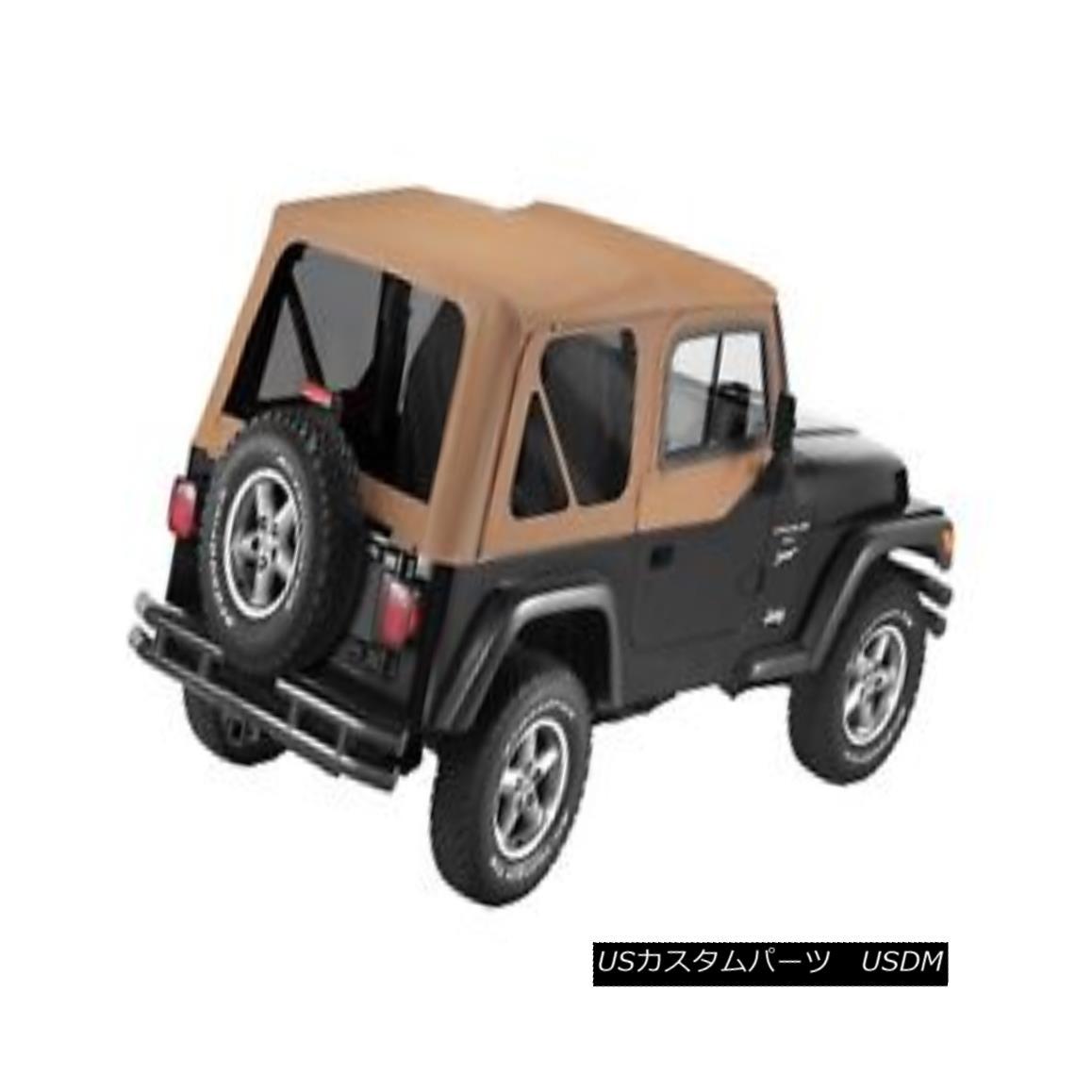 幌・ソフトトップ Bestop 51124-37 Jeep Replace-a-Top Soft Top Spice Bestop 51124-37ジープ交換トップトップソフトトップスパイス