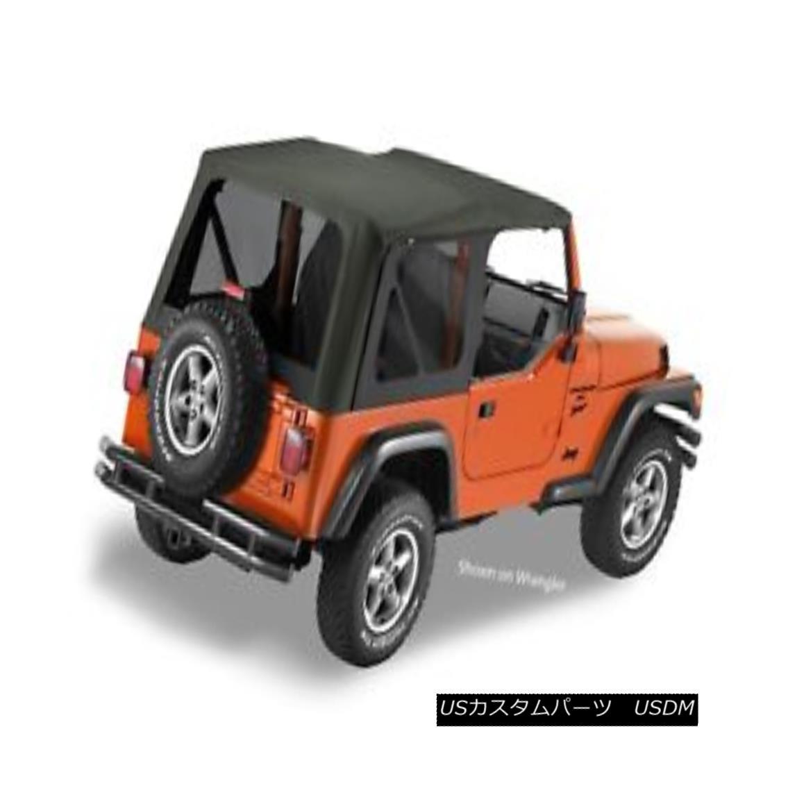 幌・ソフトトップ Bestop 79140-35 Jeep Sailcloth Replace-a-Top Soft Top Black Diamond Bestop 79140-35ジープセイルクロス交換トップトップソフトトップブラックダイヤモンド