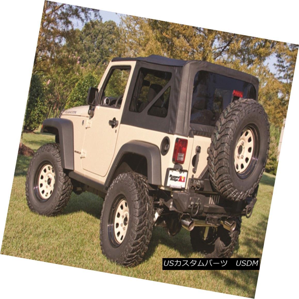幌・ソフトトップ Rugged Ridge 13736.35 XHD Soft Top Fits 07-09 Wrangler (JK) Rugged Ridge 13736.35 XHDソフトトップフィット07-09 Wrangler(JK)