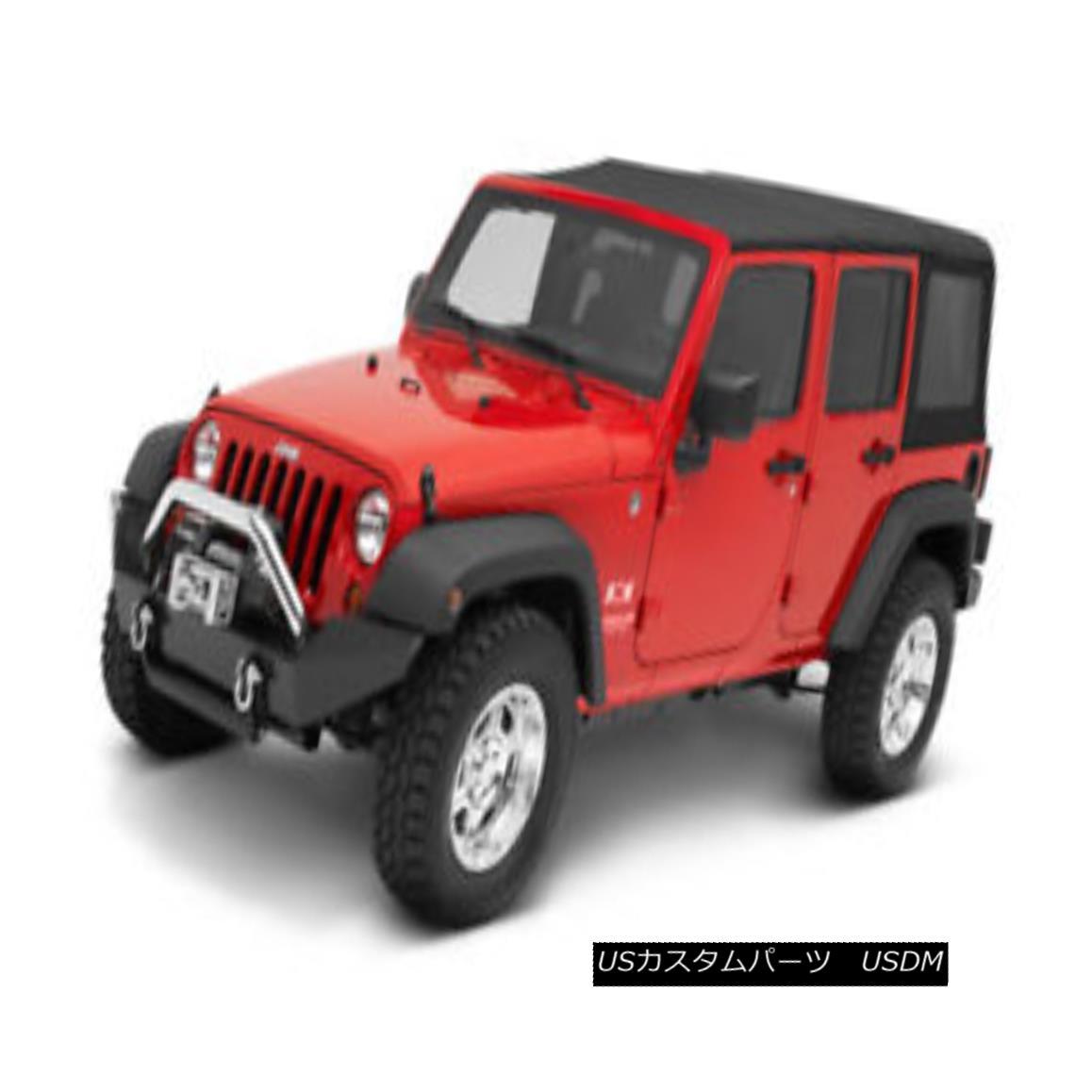 幌・ソフトトップ Bestop 79847-17 Jeep Replace-a-Top Soft Top Black Twill Bestop 79847-17 Jeep Replace-a-Topソフトトップブラックツイル
