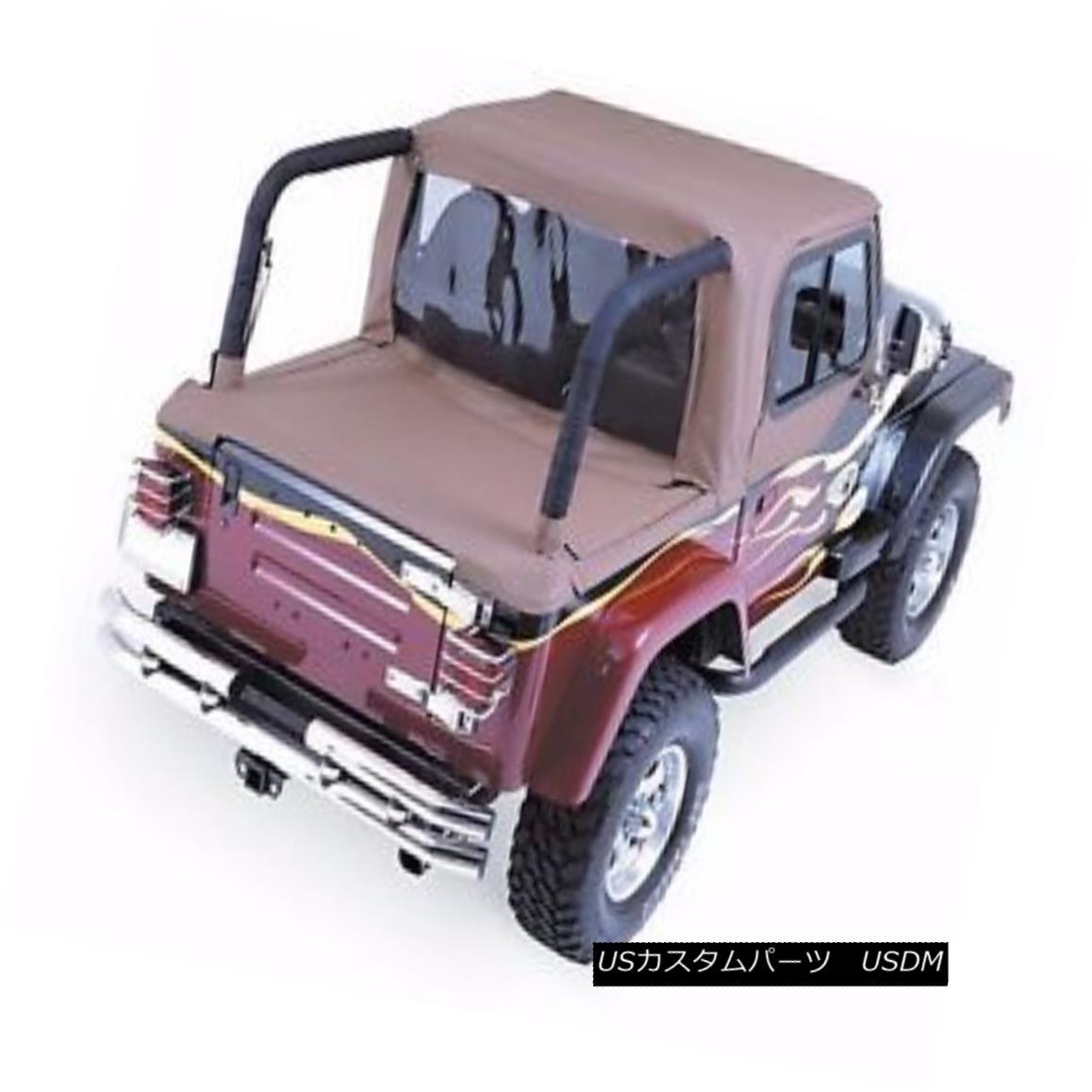 幌・ソフトトップ Rampage Full Cab Enclosure & Tonneau Cover 97-02 Jeep Wrangler TJ 994017 Spice ランペイジフルキャブエンクロージャー& トノーカバー97-02ジープラングラーTJ 994017スパイス