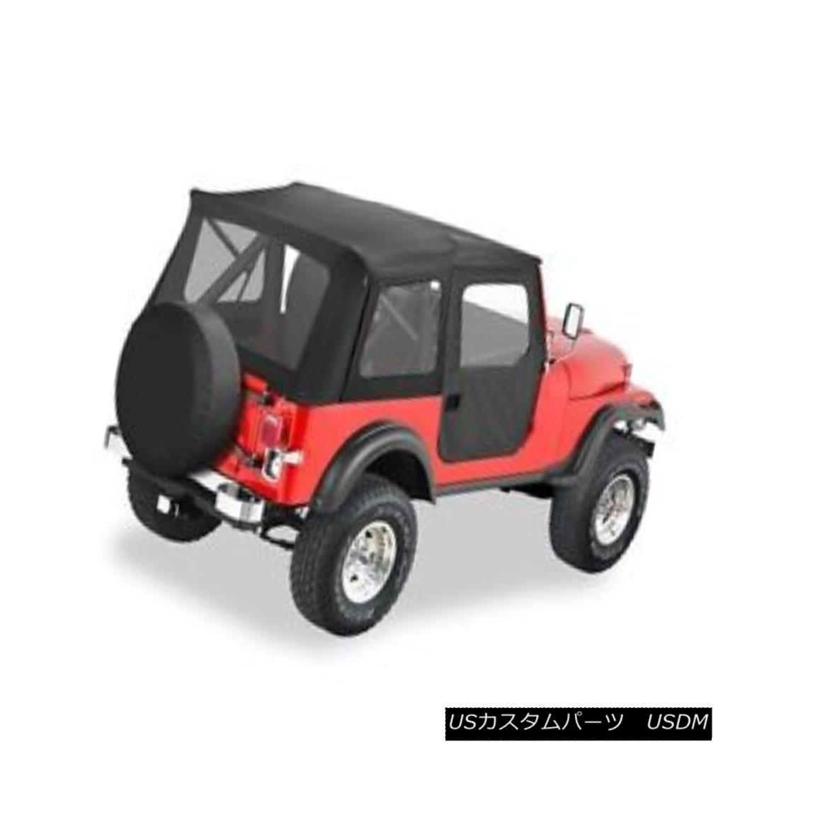 幌・ソフトトップ Bestop Supertop Classic Replacement Soft Top 55-75 CJ-5 & 51-62 M-38 #51595-01 Bestop Supertopクラシック交換用ソフトトップ55-75 CJ-5& 51-62 M-38#51595-01