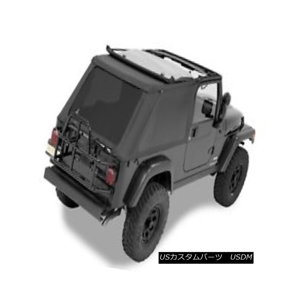 幌・ソフトトップ Bestop 56821-35 Jeep Trektop NX Complete Replacement Soft Top Black Diamond Bestop 56821-35 Jeep Trektop NX完全交換用ソフトトップブラックダイヤモンド