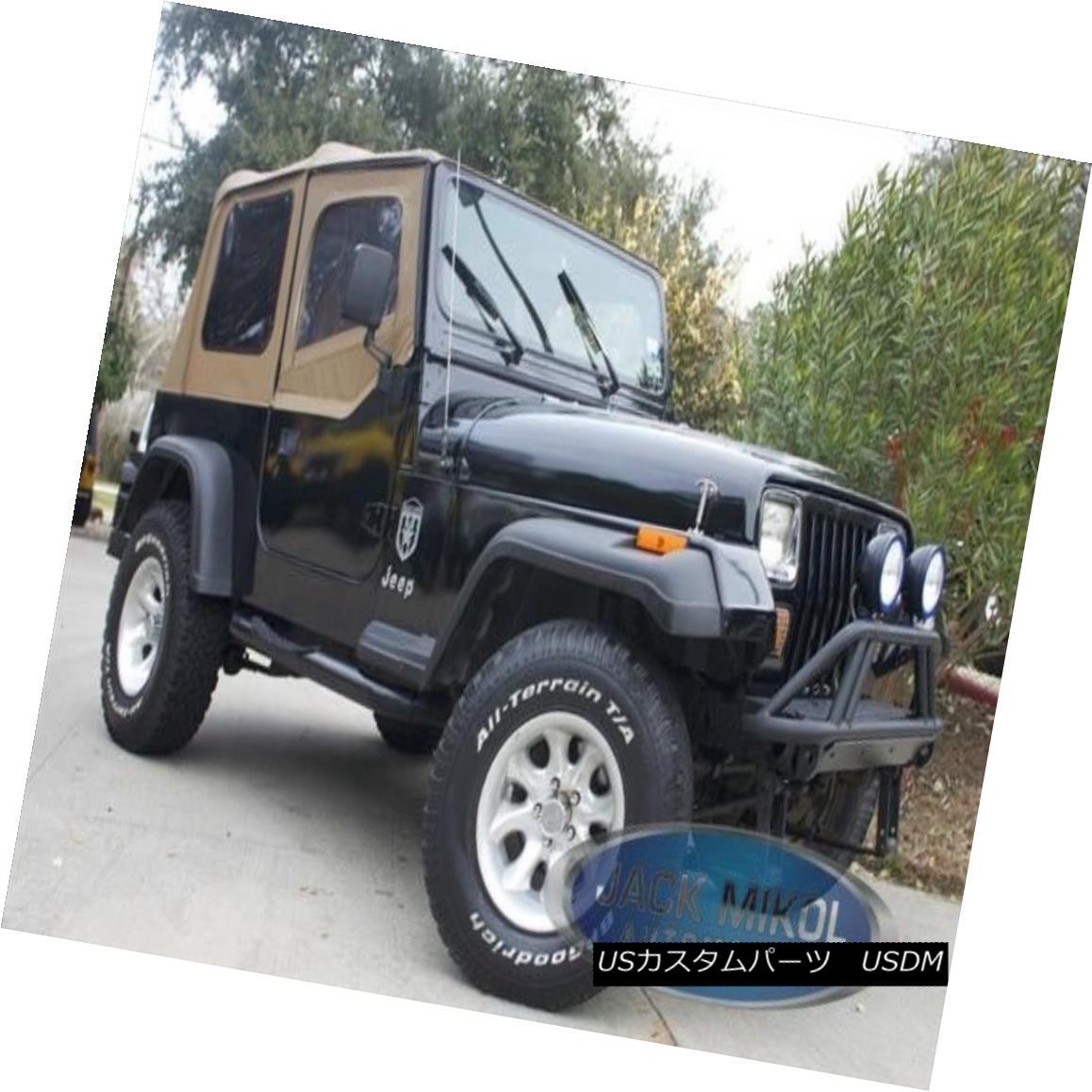 幌・ソフトトップ Spice Replacement Soft Top 88-95 Jeep Wrangler + Free Grab Handles スパイス交換ソフトトップ88-95ジープラングラー+フリーグラブハンドル