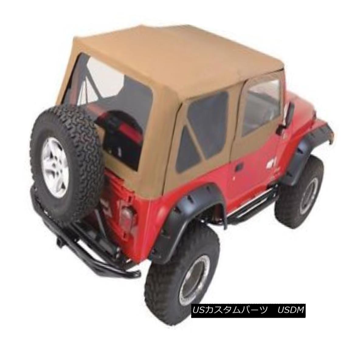 幌・ソフトトップ Rampage Complete Soft Top w/ Frame 97-06 Jeep Wrangler TJ 68317 Spice 暴走完全なソフトトップフレーム97-06ジープラングラーTJ 68317スパイス