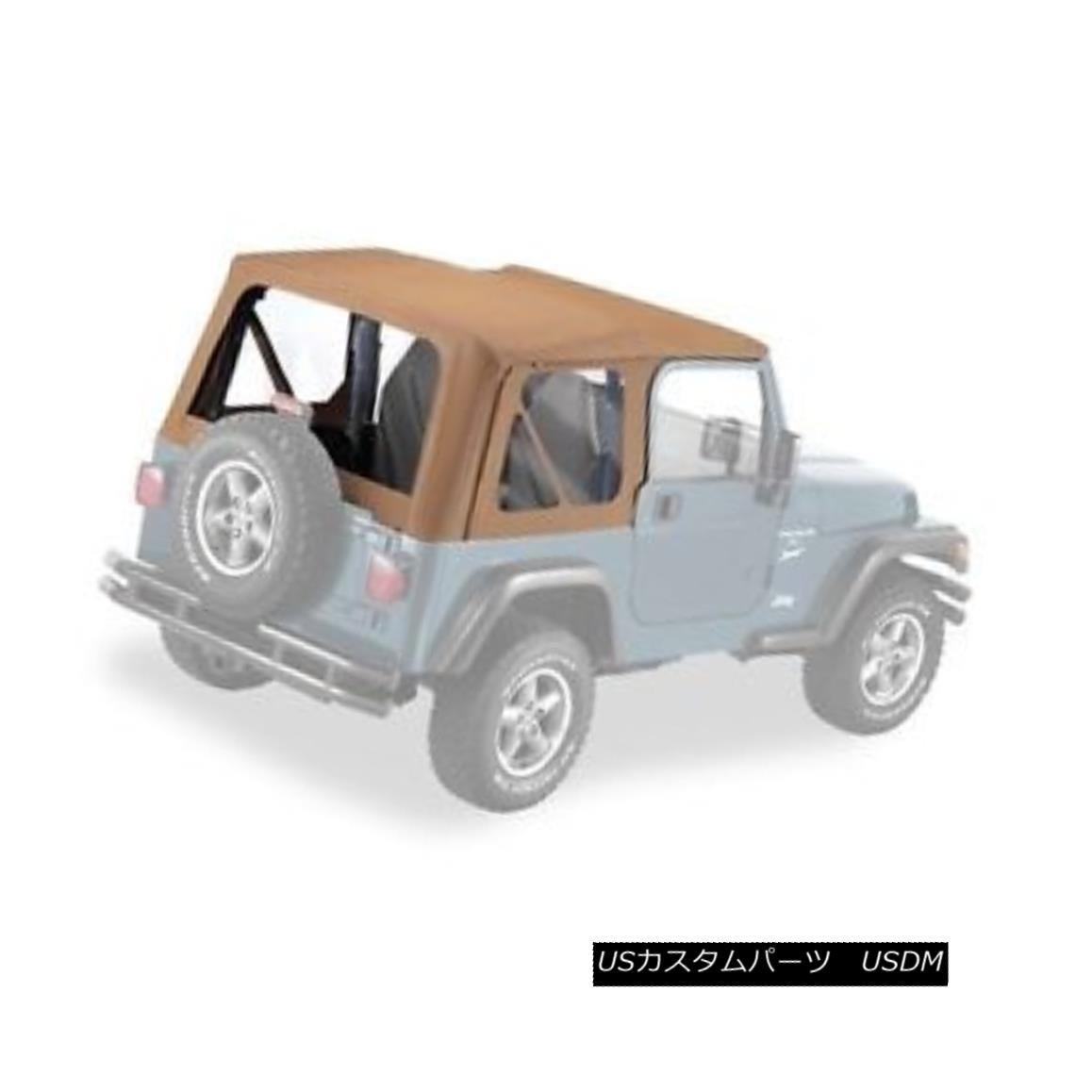 幌・ソフトトップ Pavement Ends Replay Top 97-06 Jeep Wrangler TJ Clear Windows Spice 舗装終了リプレイトップ97-06ジープラングラーTJクリアWindowsスパイス