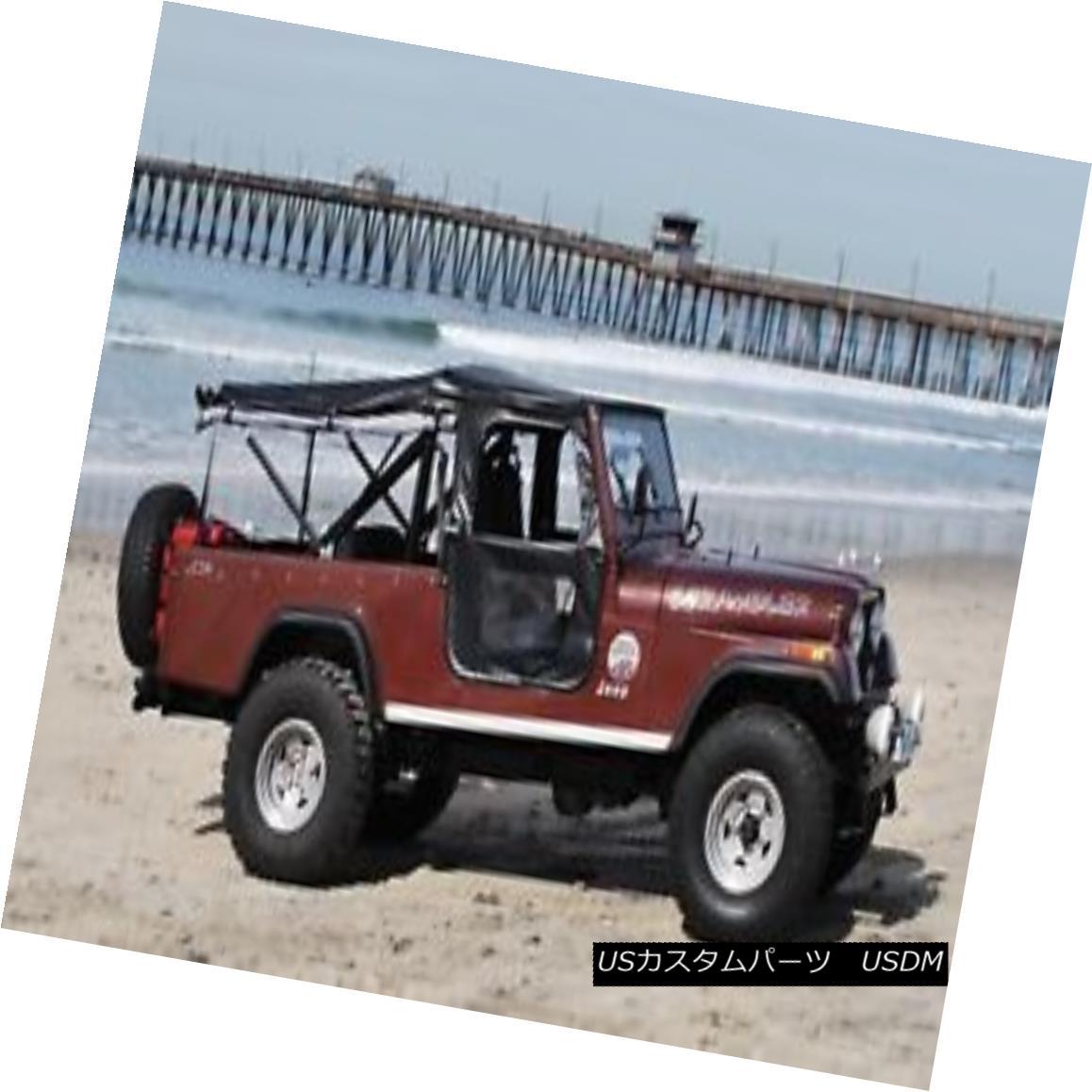 幌・ソフトトップ Bestop 51405-01 Jeep Tigertop Complete Replacement Soft Top Black Bestop 51405-01ジープTigertop完全な交換ソフトトップブラック
