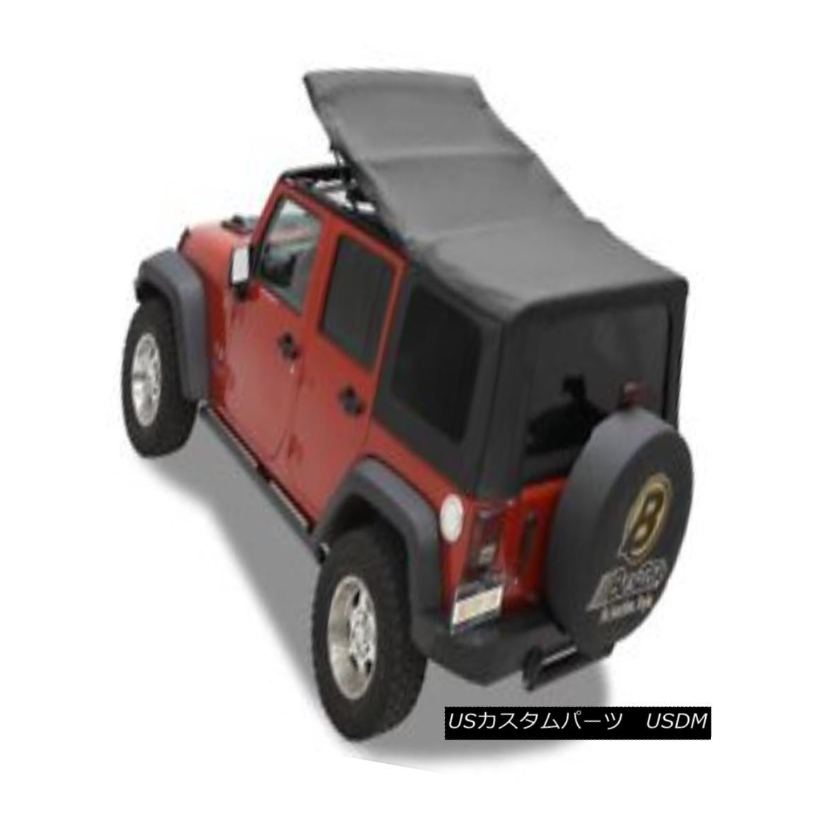 幌・ソフトトップ Bestop 79137-35 Jeep Sailcloth Replace-a-Top Soft Top Black Diamond Bestop 79137-35ジープ帆布交換トップソフトトップブラックダイヤモンド