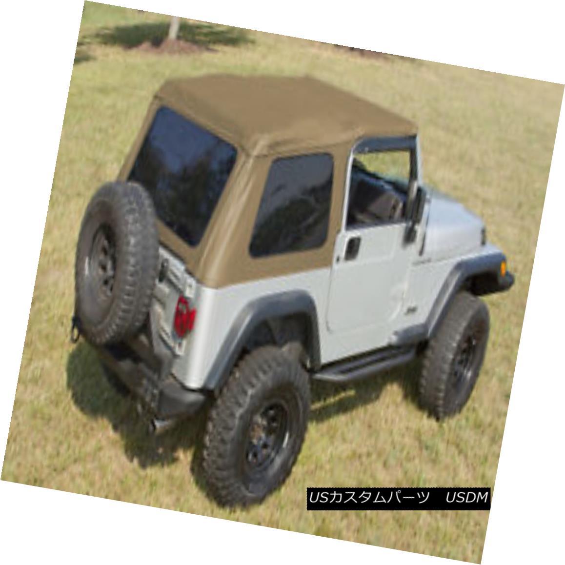 幌・ソフトトップ Rugged Ridge 13750.37 Bowless XHD Soft Top Spice 97-06 Jeep Wrangler Rugged Ridge 13750.37 Bowless XHDソフトトップスパイス97-06 Jeep Wrangler
