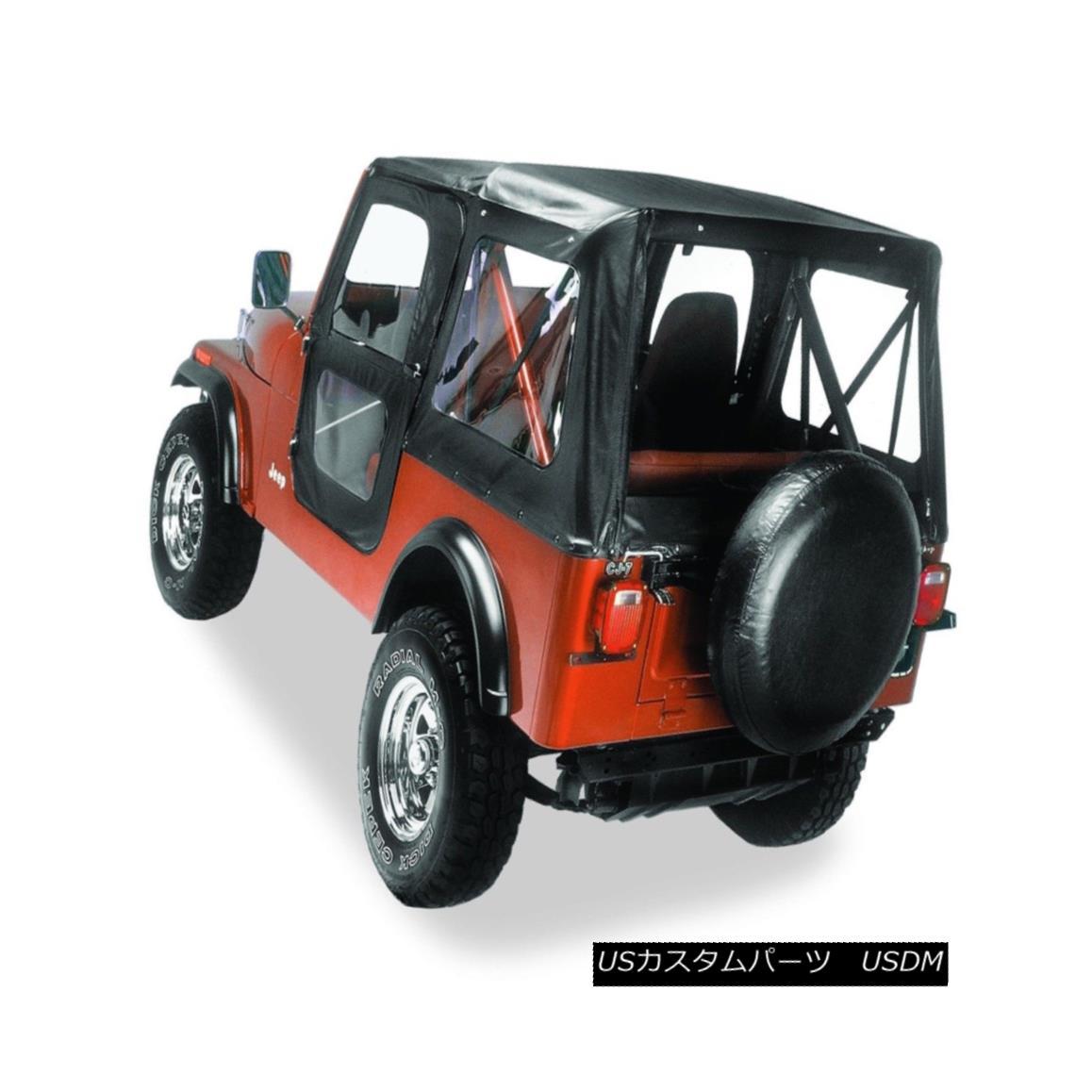 幌・ソフトトップ Bestop 51118-01 Replace-A-Top Soft Top Fits 76-86 CJ7 Bestop 51118-01交換用トップソフトトップフィット76-86 CJ7