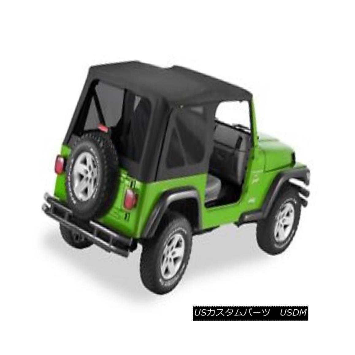 幌・ソフトトップ Bestop 51193-35 Jeep Replace-a-Top Soft Top Black Diamond Bestop 51193-35ジープ交換トップトップソフトトップブラックダイヤモンド