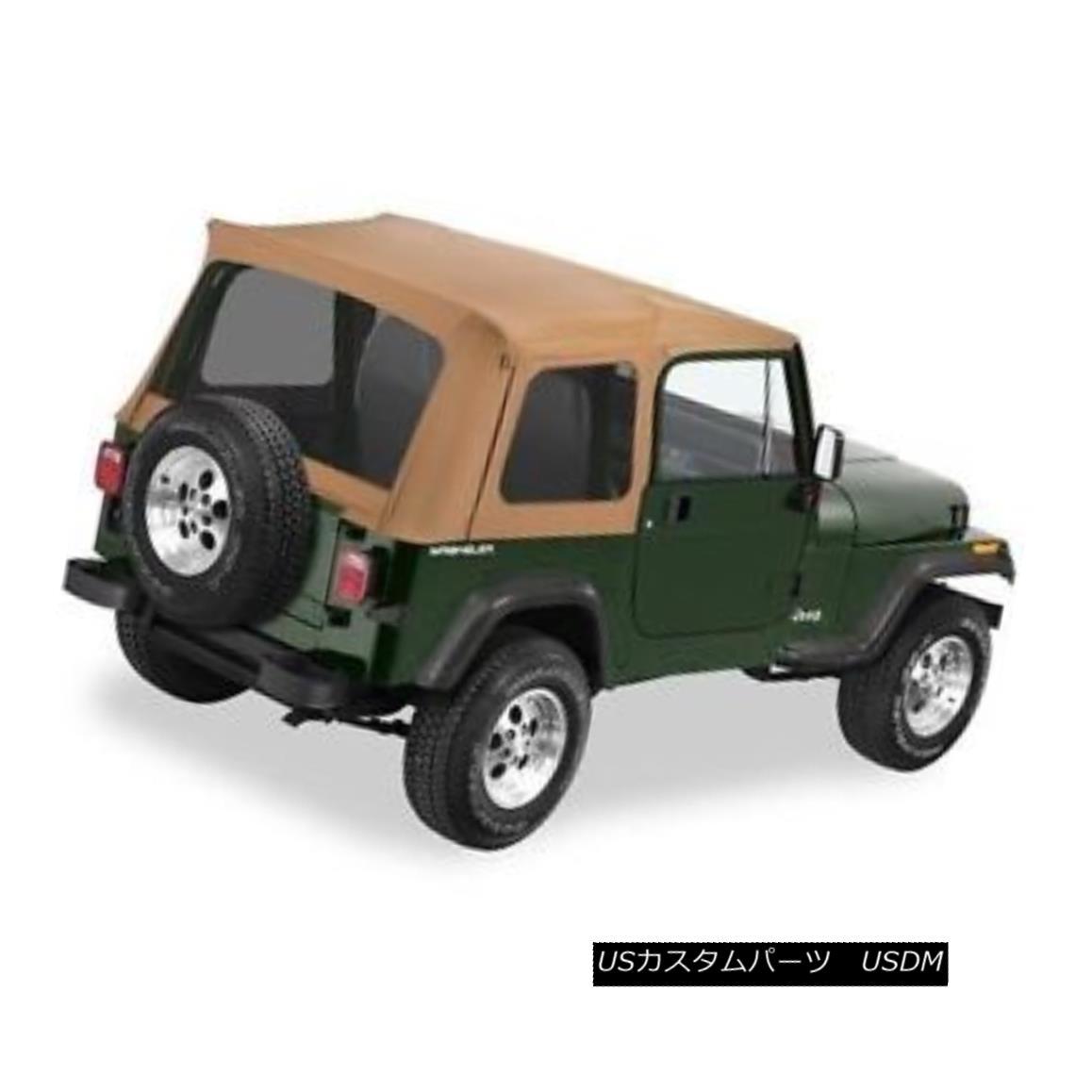 幌・ソフトトップ Bestop Supertop Replacement Skin 76-95 Jeep CJ7 / Wrangler Tinted Windows Spice Bestop Supertop Replacement Skin 76-95ジープCJ7 / Wranglerティンテッド・ウィンドウ・スパイス
