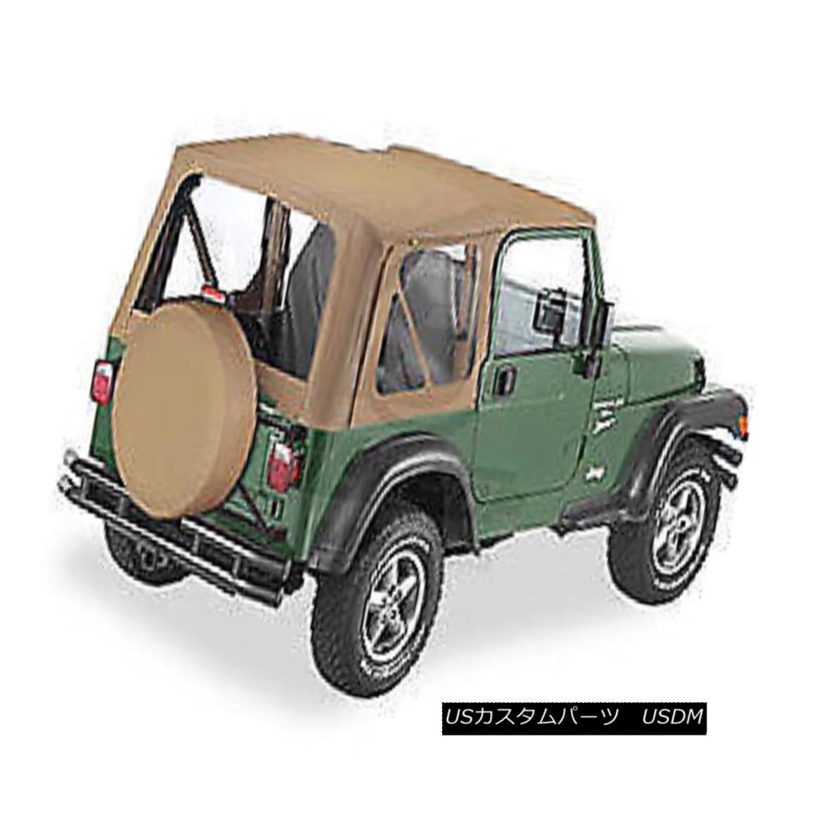 幌・ソフトトップ Bestop Replace A Top 97-02 Jeep Wrangler TJ Clear Windows Spice Bestopを交換するトップ97-02ジープラングラーTJクリアWindowsスパイス