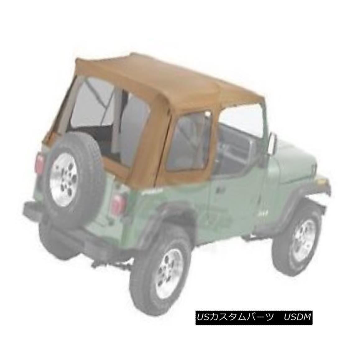 幌・ソフトトップ Bestop Supertop Replacement Skin 76-95 Jeep CJ7 / Wrangler Clear Windows Spice Bestop Supertop Replacement Skin 76-95ジープCJ7 / Wrangler Clear Windows Spice