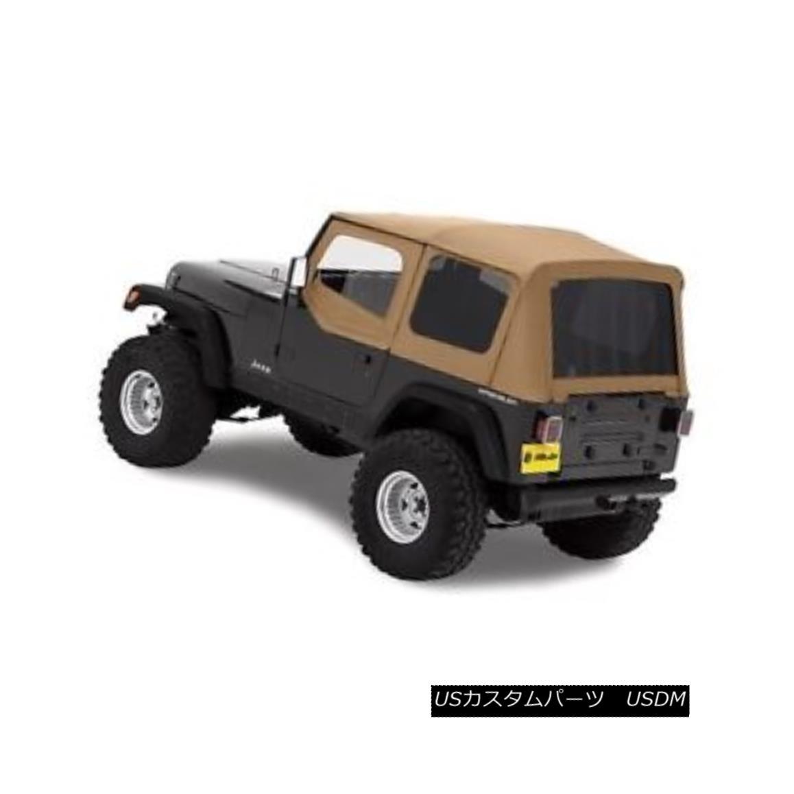 幌・ソフトトップ Bestop Replace A Top 88-95 Jeep Wrangler YJ Half Door Skins Tinted Spice Bestopを交換する88-95ジープラングラーYJハーフ・ドア・スキンティンテッド・スパイス
