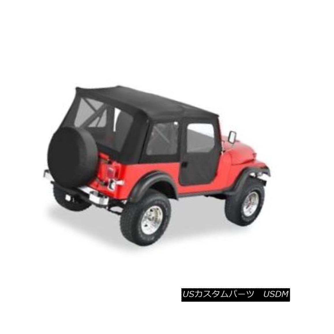 幌・ソフトトップ Bestop 51597-01 Supertop Classic Softtop (Black) For 1976-1983 Jeep CJ5 Bestop 51597-01 Supertop Classic Softtop(ブラック)1976-1983用ジープCJ5