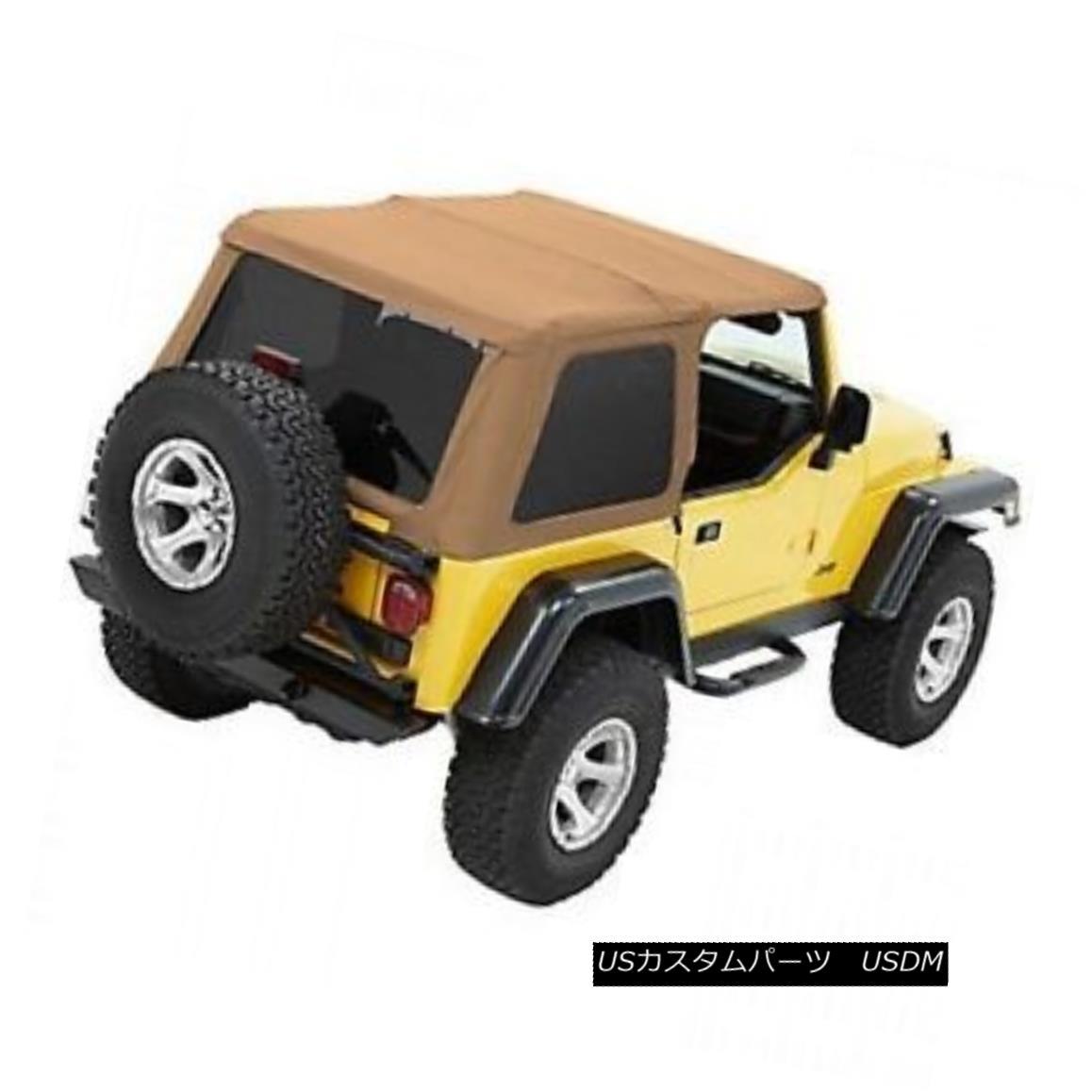 幌・ソフトトップ Bestop Trektop NX 97-06 Jeep Wrangler TJ No Doors Spice Bestop Trektop NX 97-06ジープラングラーTJ No Doors Spice