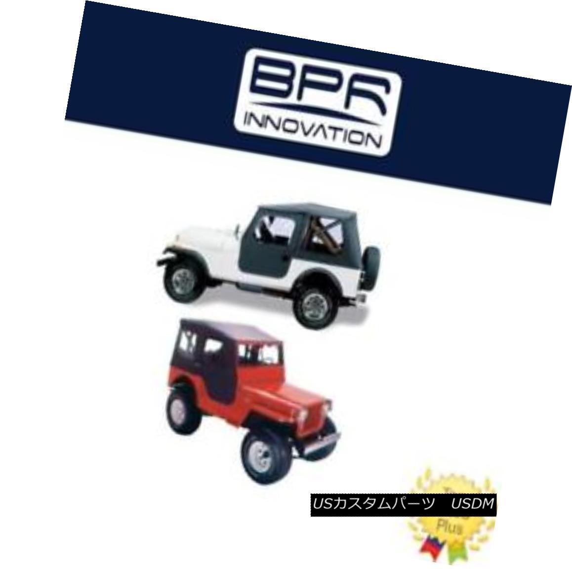 幌・ソフトトップ Bestop For 1953-1975 M38A1/CJ5 models Tigertop Complete Soft Top - 51405-01 Bestop 1953-1975 M38A1 / CJ5モデル用Tigertop Completeソフトトップ - 51405-01