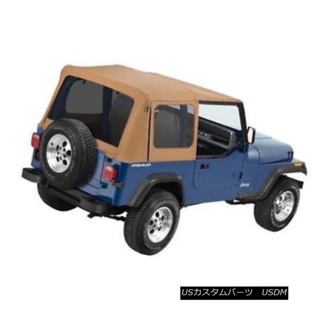 幌・ソフトトップ Bestop Supertop NX 88-95 Jeep Wrangler YJ Tinted No Doors Spice Bestop Supertop NX 88-95ジープ・ラングラー・イージー・ティンテッド・ノー・ドア・スパイス