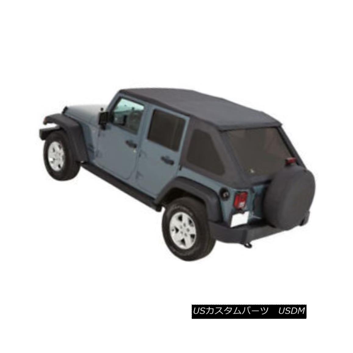 幌・ソフトトップ Pavement Ends 56845-35 Wrangler JK Frameless Soft Top Sprint 4-Door Jeep 2007-20 舗装端56845-35ラングラーJKフレームレスソフトトップスプリント4ドアジープ2007-20