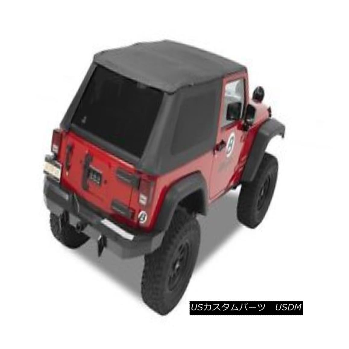 幌・ソフトトップ Bestop Trektop NX (No Doors) for 2007-2017 Jeep Wrangler JK 2 Door Black Diamond Topop Trektop NX(No Doors)2007-2017ジープ・ラングラーJK 2 Door Black Diamond