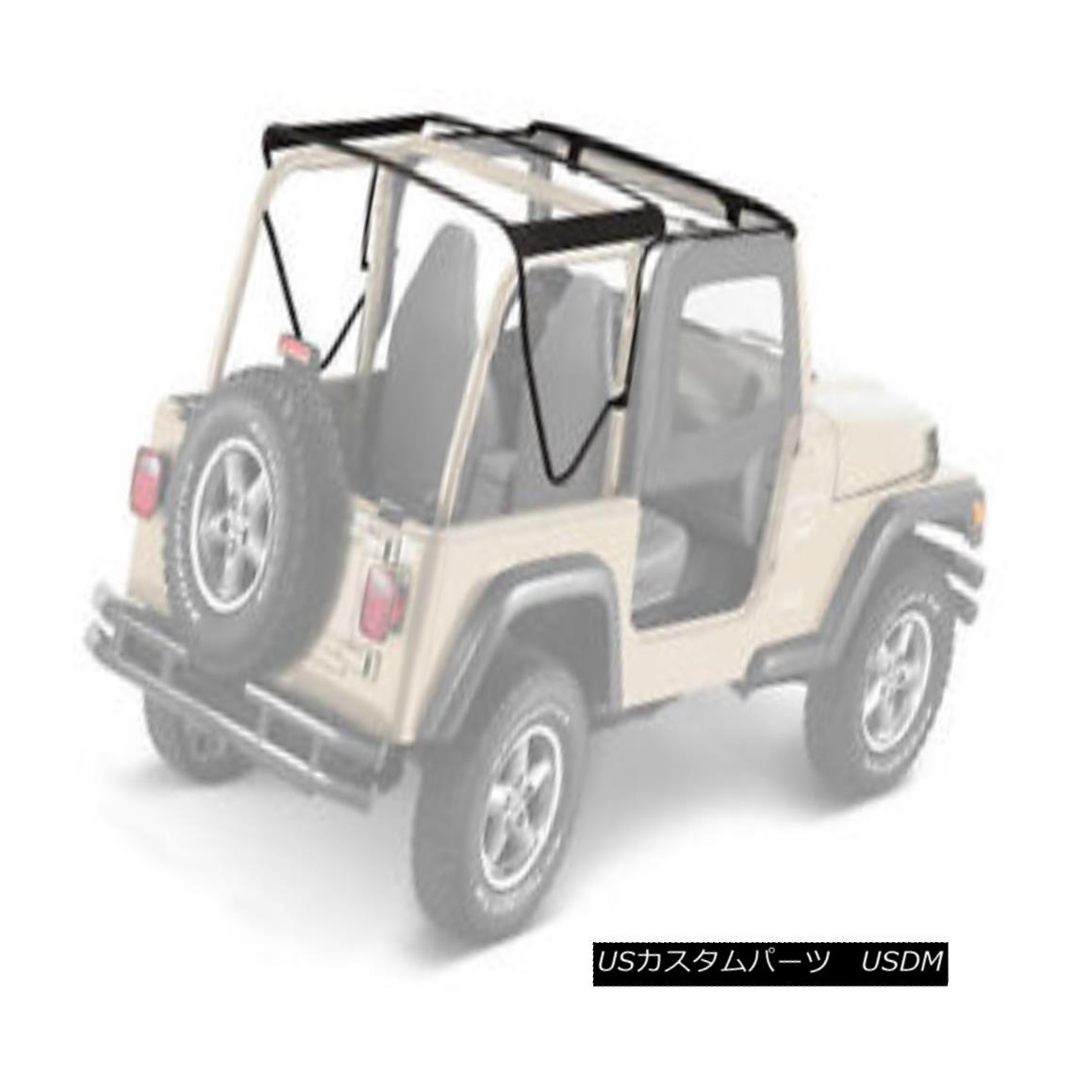 <title>車用品 バイク用品 >> パーツ 外装 エアロパーツ その他 幌 ソフトトップ Bestop Factory Style Bow Kit 97-06 Jeep 送料無料カード決済可能 Wrangler TJ 55002-01 97-06ジープラングラーTJ</title>