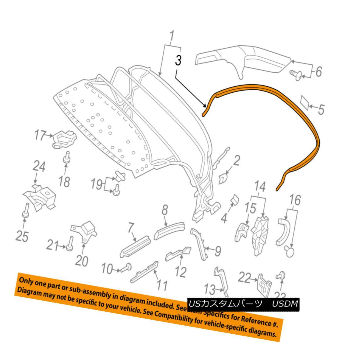 <title>車用品 バイク用品 >> パーツ 外装 エアロパーツ その他 幌 ソフトトップ AUDI OEM 《週末限定タイムセール》 16-17 TT Quattro Convertible soft Top-Rear Bow 8S7871553 so ftトップリアボウ8S7871553</title>